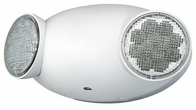 "Compass 9"" x 2-3/4"" x 4"" LED Emergency Light, Ceiling/Wall Mounting - CU2"