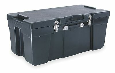 J Terence Thompson Storage Trunk, W 15 3/4, L 32 1/2, Black - 2820