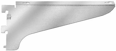 "Reeve 3/4"" x 18"" x 4"" 11 Gauge Steel Shelving Bracket, Right Flange, Silver;"