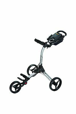 Bag Boy Compact C3 3-Rad Golftrolley Farbe: silver/black, Neu!