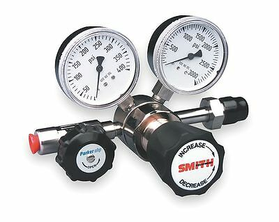 Miller-Smith Equipment Silverline Series High Purity Gas Regulator, 0 to 100
