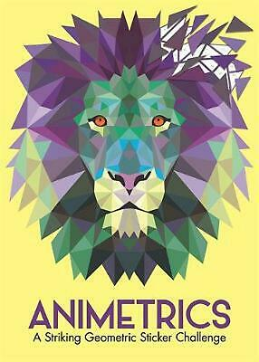 Animetrics: A Striking Geometric Sticker Challenge by Buster Books Paperback Boo