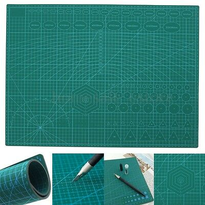 "18"" x 24"" Self Healing Double Sided 5-Ply PVC Durable A2 Cutting Mat Craft Board"