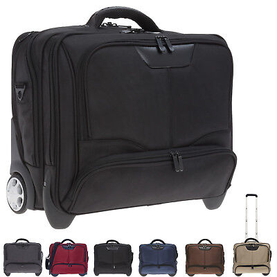 DERMATA Trolley BUSINESS II Laptop Notebook Trolly Aktentrolly Bag 3456 ny WAHL