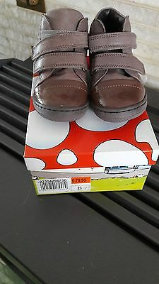 Pointure 23 Bottines taille plop (brantano) neuves! nieuw Fille