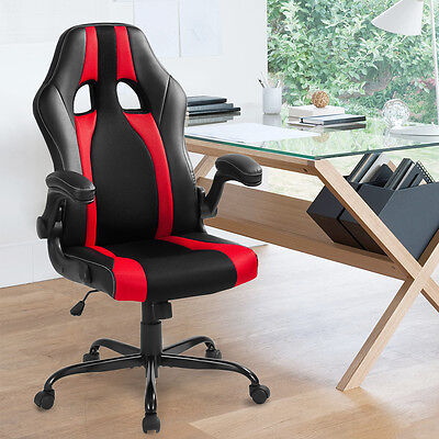 Office Computer Chair Racing Gaming Executive Swivel Adjustable Armrest Luxury