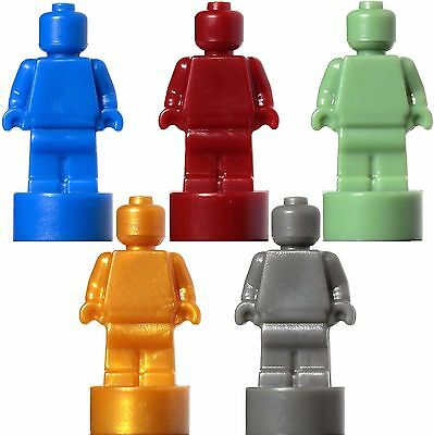 NEW LEGO - Accessory Statuette microfig Sand Green Pearl Gold Dark Red Gray Blue