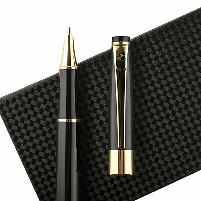 Fountain Pen Vintage Fine Nib with Gift Case and Ink Refill Converter by ZenZoi