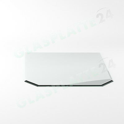 Spark Guard Plate Chimney Stove Glass Bottom Plate Baseplate Plate Glass G8 6mm