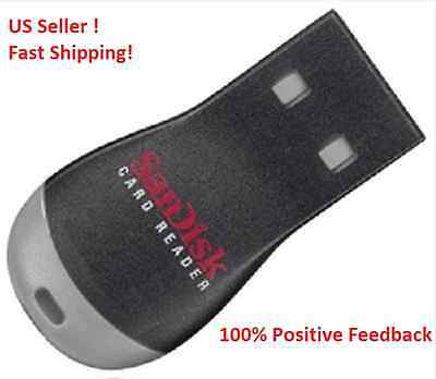 TWO SANDISK MICRO SD USB READER For 1 ~ 32gb card. US seller, fast shipping