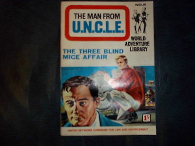 The Man From Uncle - The Three Blind Mice Affair.