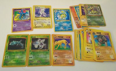 Lot de cartes pokemon EN