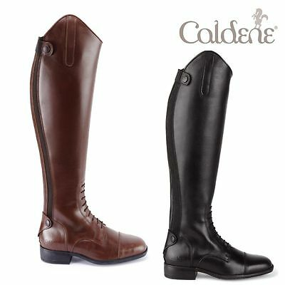 Caldene Ashford Long Leather Field Riding Boots RRP £225.00 NEW