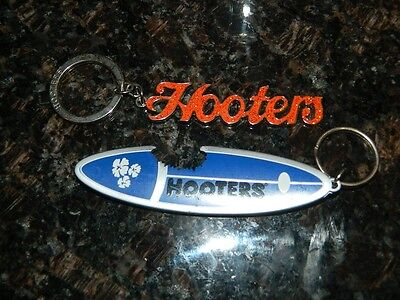 New Hooters Restaurant Keyrings Or Chains