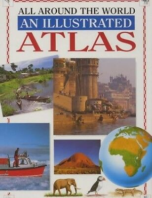 All Around the World: Illustrated Atlas (All a..., Evans, Dr. Charlotte Hardback