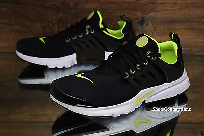 [833875-071] New Nike Size Presto Gs 5Y Black Yellow Boys Sneakers Running Shoes