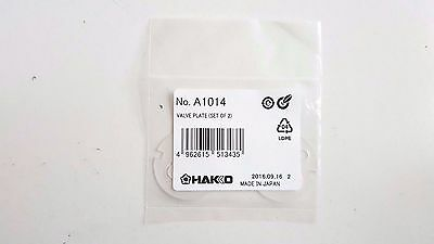 Hakko Valve Plate A1014, Pump, Set of 2 Pk, Use for470/472/702/703/470B/472B/472