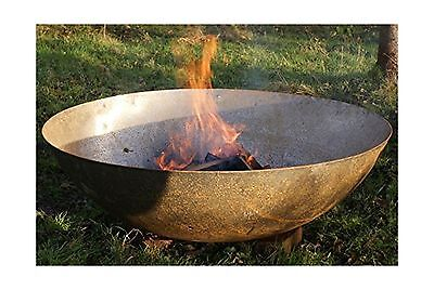 Large 80cm Steel Bowl Dish Wood Burner Fire Pit / Bowl