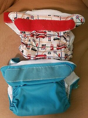 Tots Bots Easy Fit All In One AIO Cloth Diaper Lot