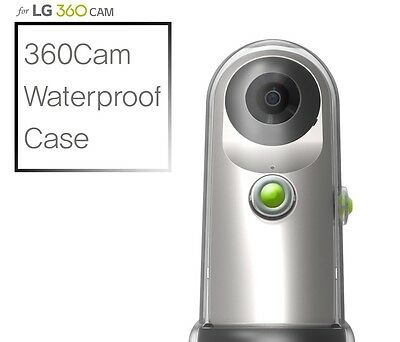 Voia Transparent Waterproof Circular Case Cover For LG 360 CAM LGR10  Original