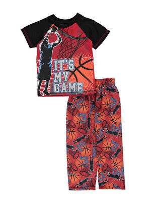 "Mac Henry Little Boys' ""It's My Game"" 2-Piece Pajamas (Sizes 4 - 7)"
