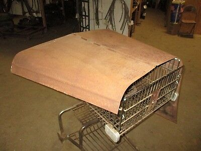 30 31 1930 1931 Ford Model A Hood Top Side Engine Motor Cover Panel