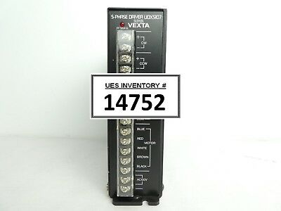 Oriental Motor UDX5107 5-Phase Driver Super VEXTA Used Working