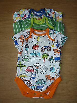 Bnwt Next Baby Boy Bodysuits 1 Month / 10Lb