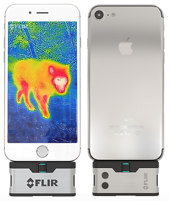 FLIR ONE Thermal Imaging Camera Compatible with ios  iPhone  .NEW