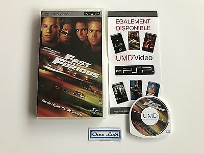 Fast And Furious - UMD Video - Sony PSP - FR/EN/ESP/IT