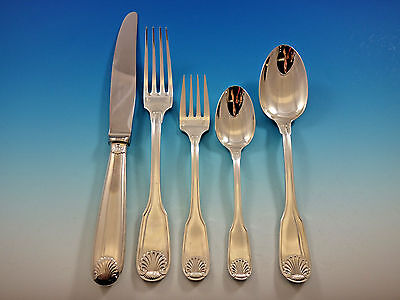 Vendome by Christofle France Silverplate Flatware Set Service 62 pieces