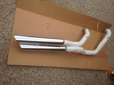 Vance And Hines Motorcycle Exhaust Pipes Suzuk Boulevard C90