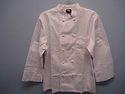 Dickies Chef Coat, Size XS, Unisex Coat, Knotted Buttons, New with Tags