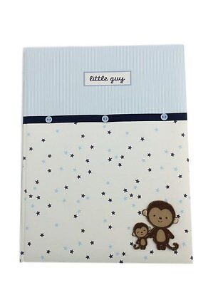 Carters Baby Memory Book Boys Keepsake Book Up to 5 Years Monkey
