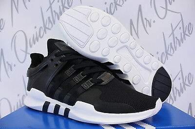 promo code 32efd 603e1 Adidas Eqt Support Adv Sz 12 Core Black White 9116 Milled Leather Pack  Bb1295