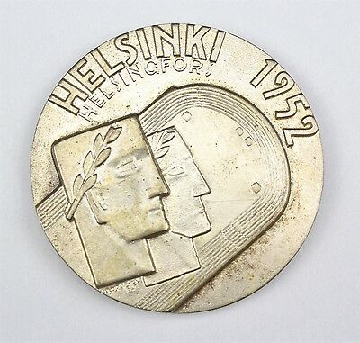 Participants medal Silver Olympics 1952 Helsinki of a hungarian gold medalist