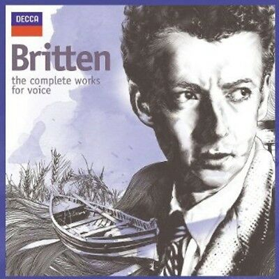 Britten: The Complete Works For Voice (2013, CD NEW)