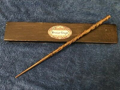 """Hermione Granger Wand 15"""", Authentic Noble Collection Harry Potter import retail"""