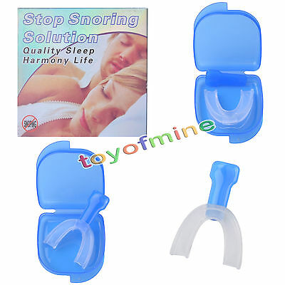 Stop Snoring Mouthpiece Apnea Aid Sleep Bruxism Anti Snore Pure Grind MouthGuard