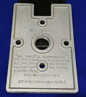 4 x NORTHERN BEAVER VENDING MACHINE MOUNTING BRACKET FOR BS800 STANDS