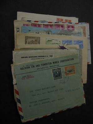 BOLIVIA : Massive unchecked accumulation of 61, commercially used covers to USA.