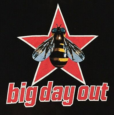 Never Worn Authentic Big Day Out '95 Australia Tshirt Size L