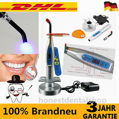5W DENTAL LED.B Wireless Curing Light Lamp Polymerisationslampe Härtungslampe