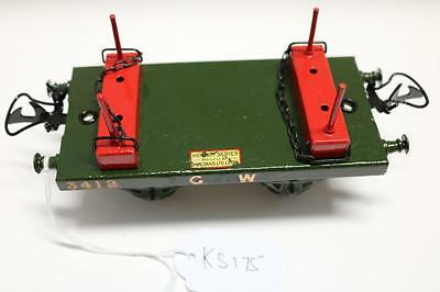 Hornby G W  Timber Wagon For Parts Repair Or Parts  Ks175