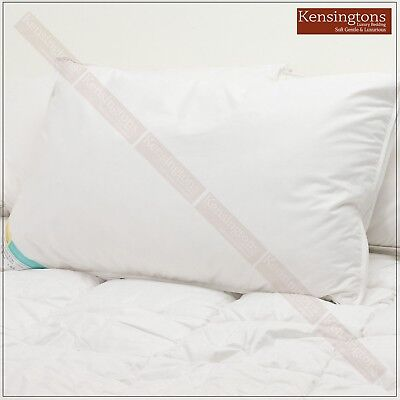 100% Pure Canadian Goose Down Hotel Quality Silk Cotton Cover Luxury Pillows