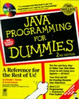 Java Programming For Dummies, J. Mixed media product Book The Cheap Fast Free