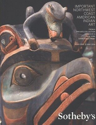 Sotheby's New York  Catalogue Important Northwest Coast American Indian Art  HB