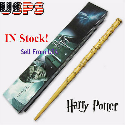 Harry Potter Hogwarts Hermione Granger Magic Wand in Box Cosplay Use Gift USA