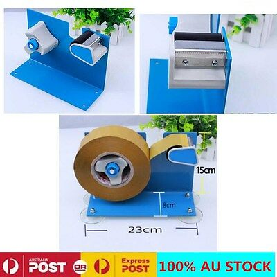 Heavy Duty Heavyweight 50mm Packing Sticky Tape Dispenser  Tape Desktop/Bench
