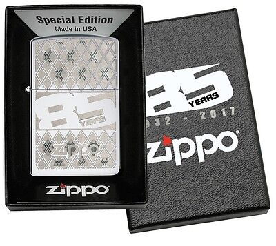 85 YEARS High Polished Jubiläums ZIPPO neu+ovp Special Edition